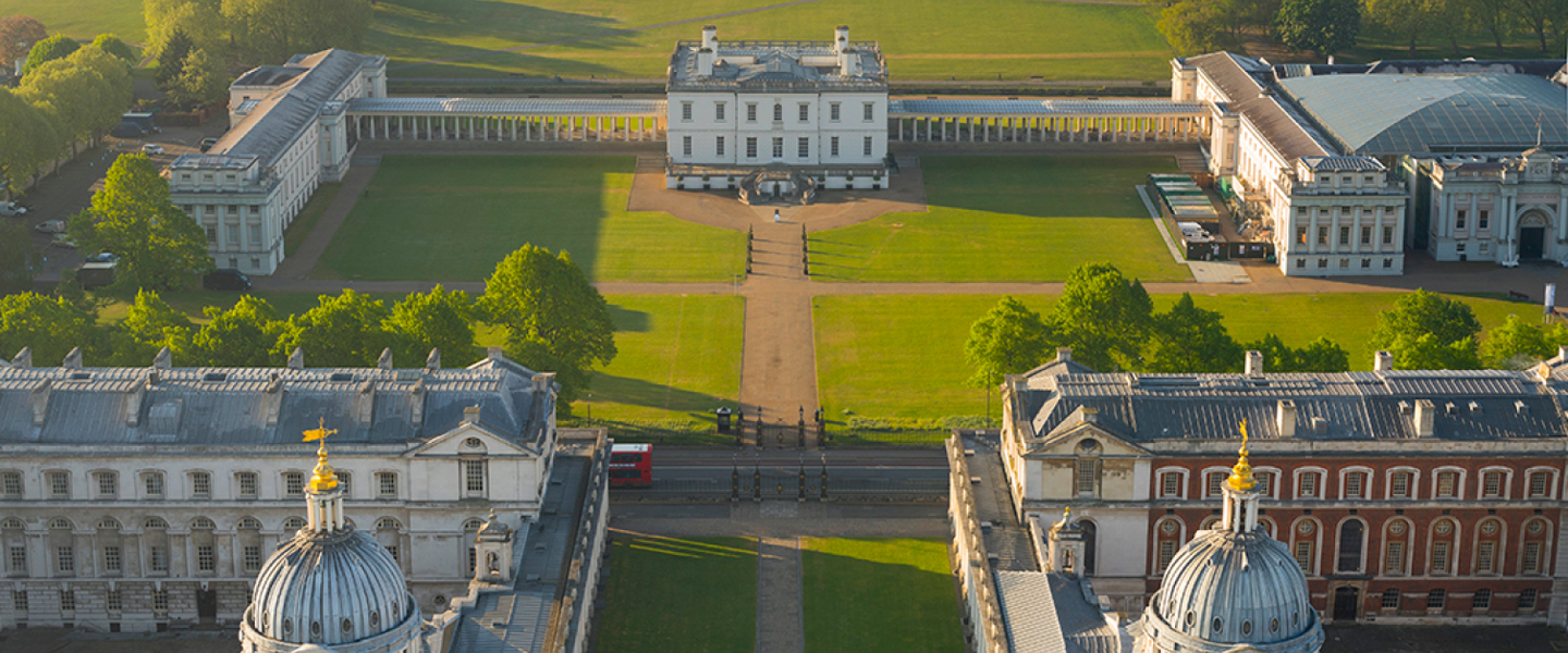 View of Royal Museums Greenwich